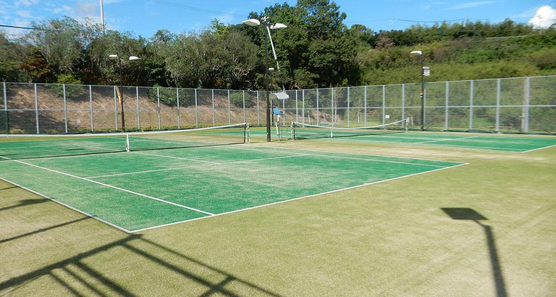 三四六総合運動公園テニスコート整備工事