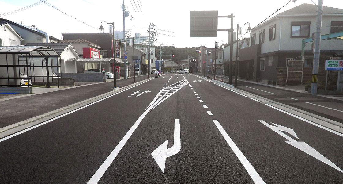 和歌山県(元町新庄線道路改良外合併工事)