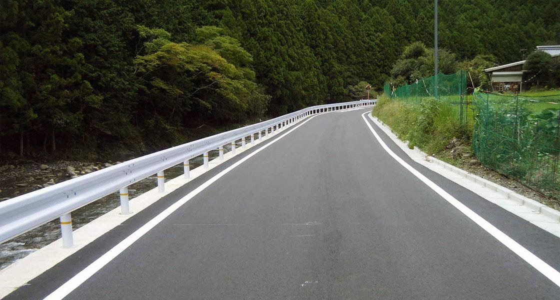 田辺市(熊野川線(その2)道路改良工事)