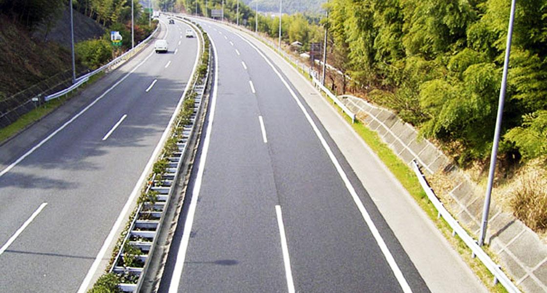 西日本高速道路(阪和自動車道岸和田和泉~貝塚間舗装改良工事)