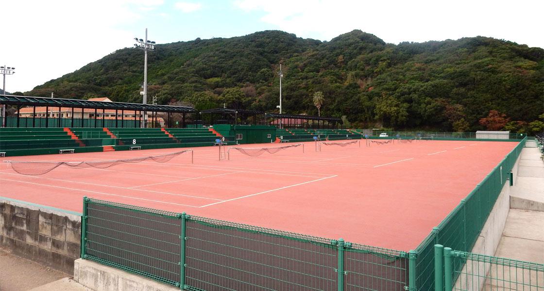白浜町(日置)テニスコート整備(その2)工事